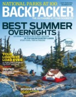 Free Subscription to Backpacker Magazine