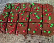 holiday brownies by Tricias-List copywrite 2015