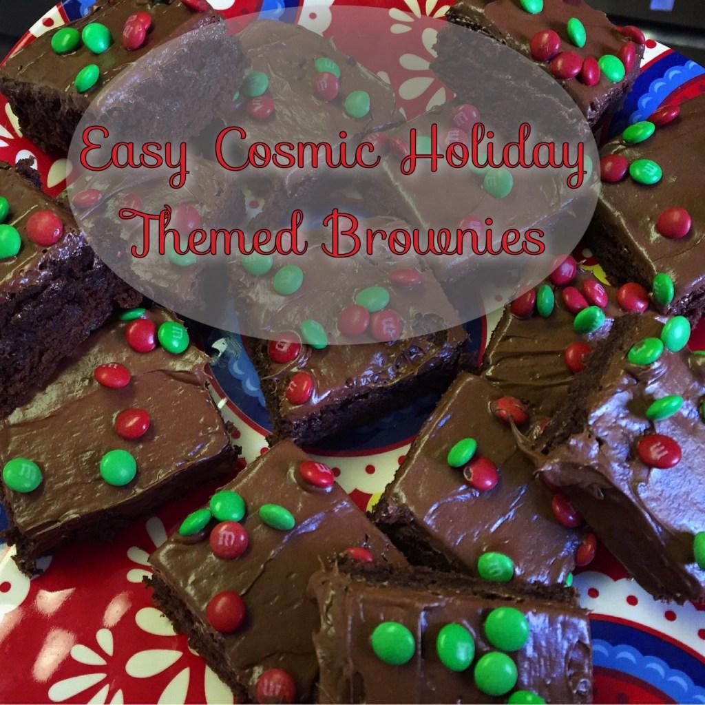 FOODIE : Easy DIY Cosmic Brownies ! *Holiday Edition