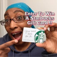 Want To Win A Starbucks Gift Card? Enter Here!!