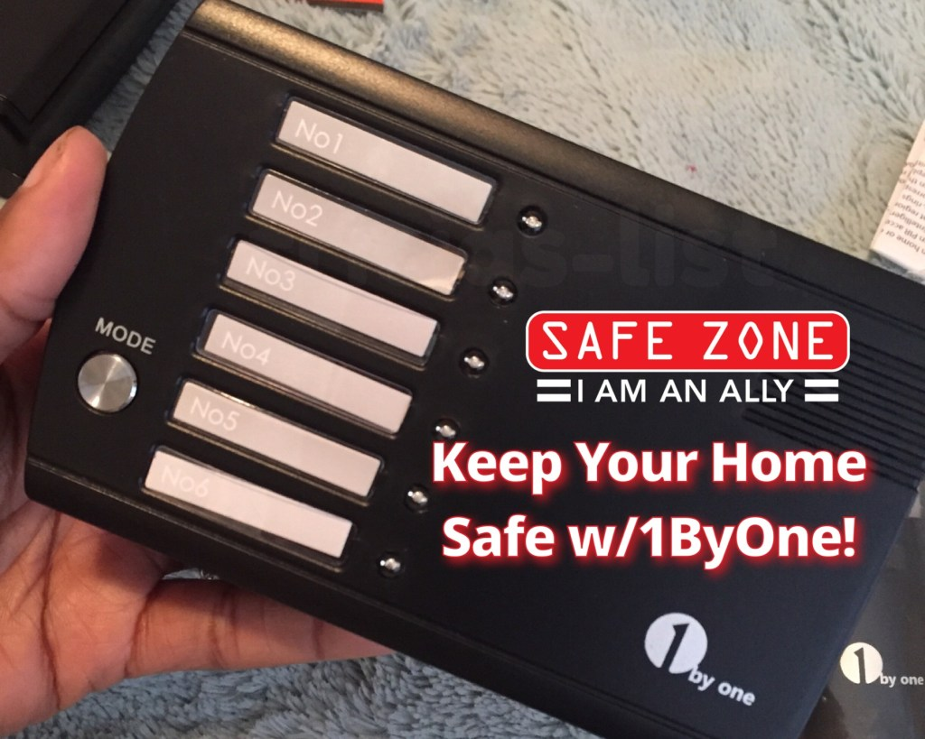 Keep Your Home Safe & Secure With 1ByOne Security