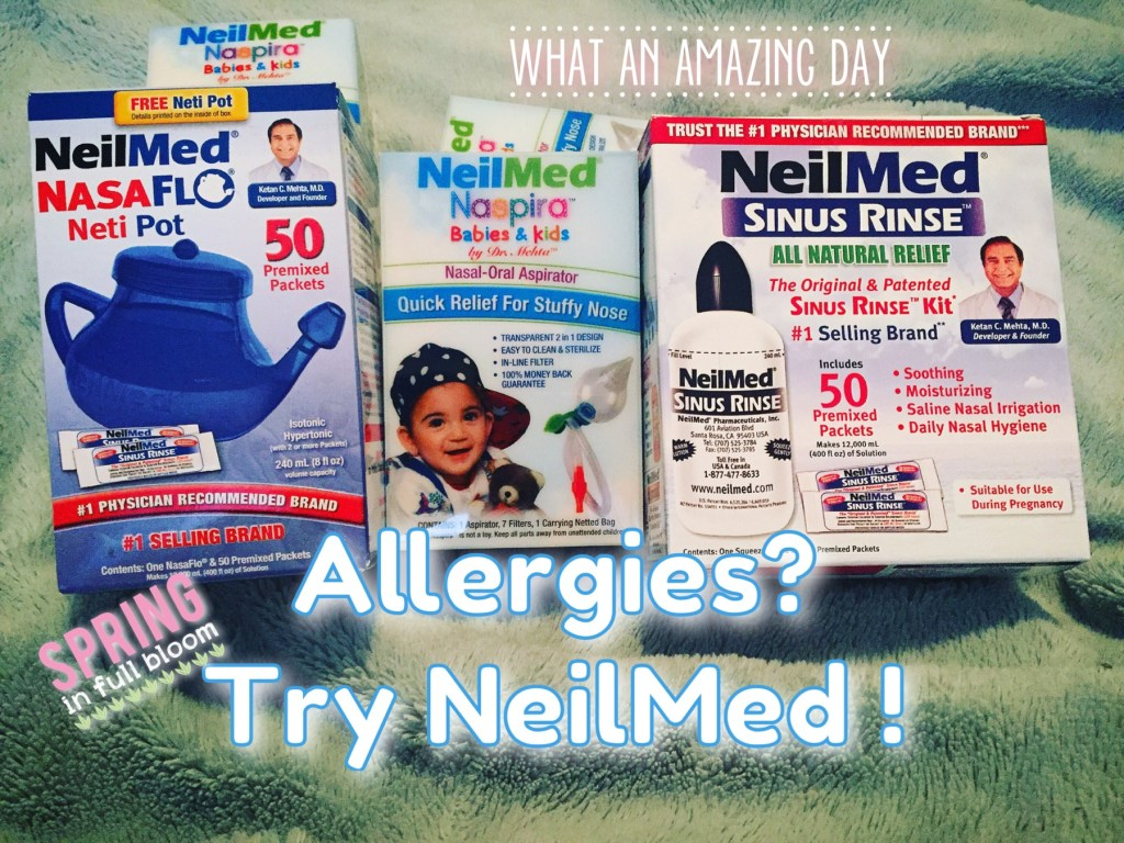 Allergies Got You & Baby Going Crazy? Try NeilMed Naspira #Giveaway