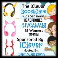 iClever Boostcare Headphones Giveaway – 15 WINNERS !! #Sponsored