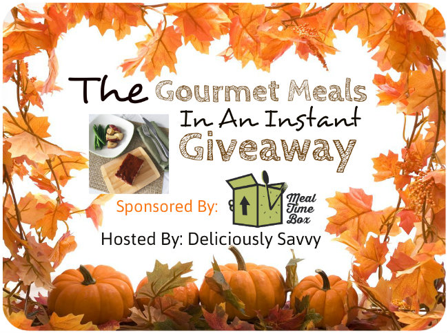 Gourmet Meals In An Instant Giveaway ! 2 Winners! ($100 TRV)
