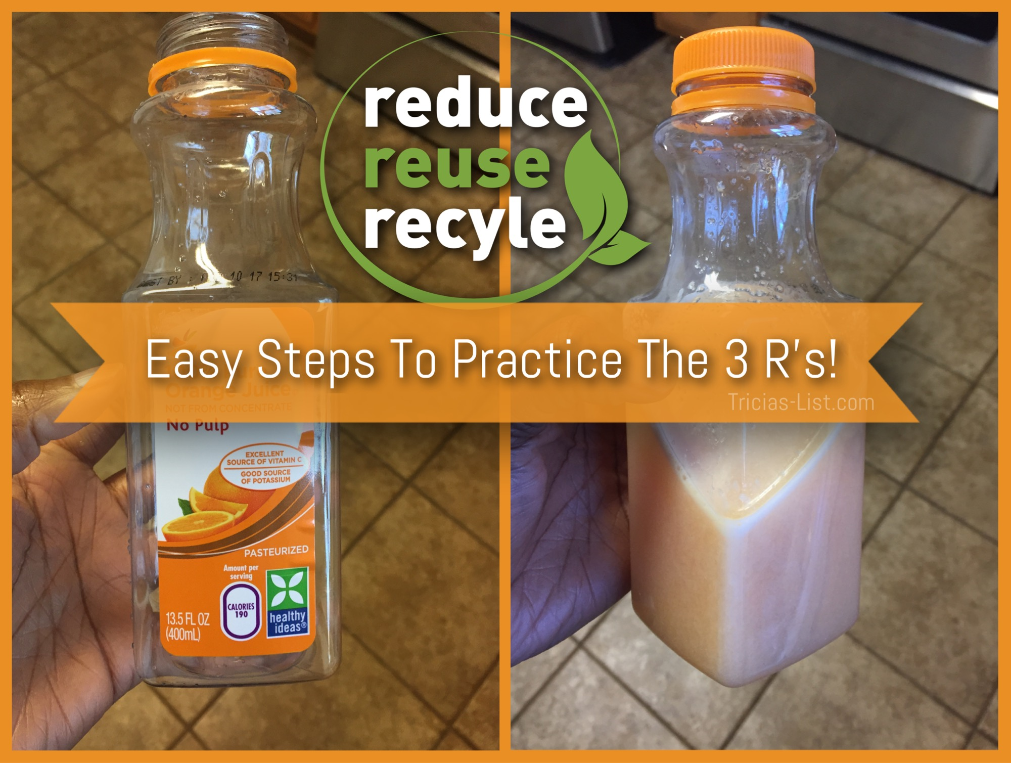 The 3 R's & How Easy They Are To Do!