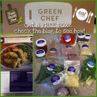Green Chef : Gourmet Meals At Home In 30 Minutes!