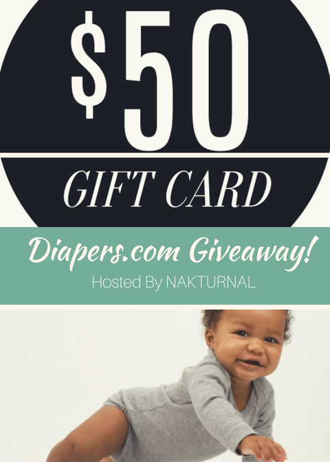 Stock Up Toddler Formula & Other Baby Items! Diapers.Com $50 Giftcard Giveaway (Hosted by Nakturnal )!