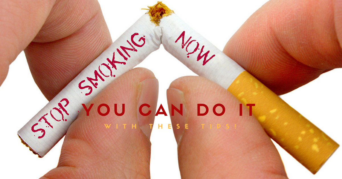 It's High Time To Quit Smoking In 2017 With The Help Of These Tips