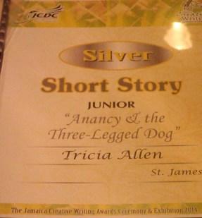 My award-winning story