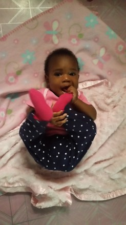 Eating toes at 6 months