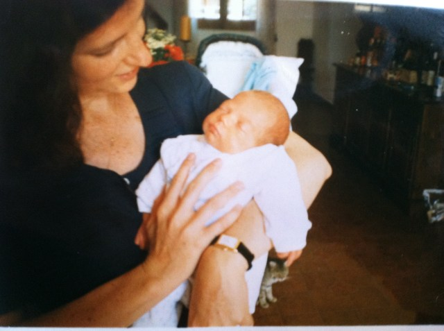 Home from the Hospital  Six Weeks Later - July 1995