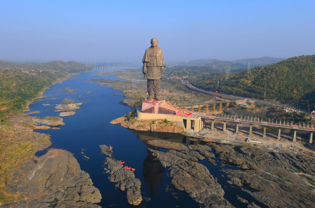 Statue of unity-location
