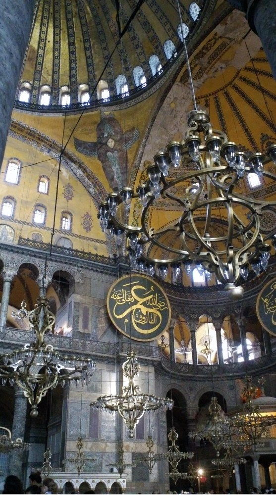 A DATE WITH AN ANGEL: Worlds Collide in Hagia Sophia (2/6)