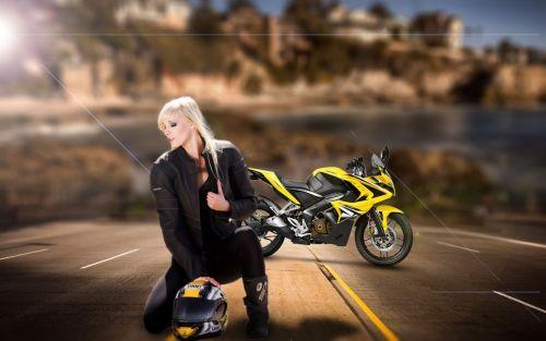 Biker Girl Photo Manipulation Tutorial   Photoshop cc 2017