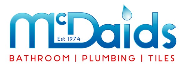 McDaids, 40th Anniversary New Brand & Logo Concept. Donegal Based Bathroom & Plumbing Company