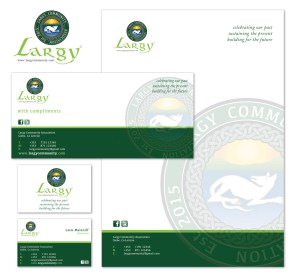Largy Community Association new brand identity