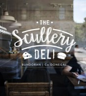 Scullery window graphic