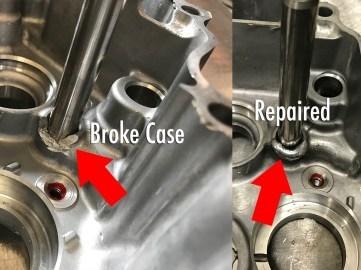 Tranny Shaft Case Repair