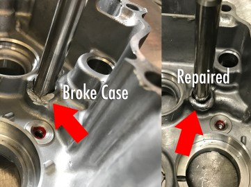 Tranny Shaft Case Repair