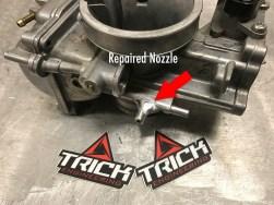 Repaired Carb Nozzle