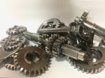 A Set Of Gears After Superfinishing
