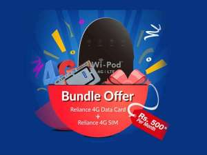 Reliance Bundle offer get daily 1GB data for one year free