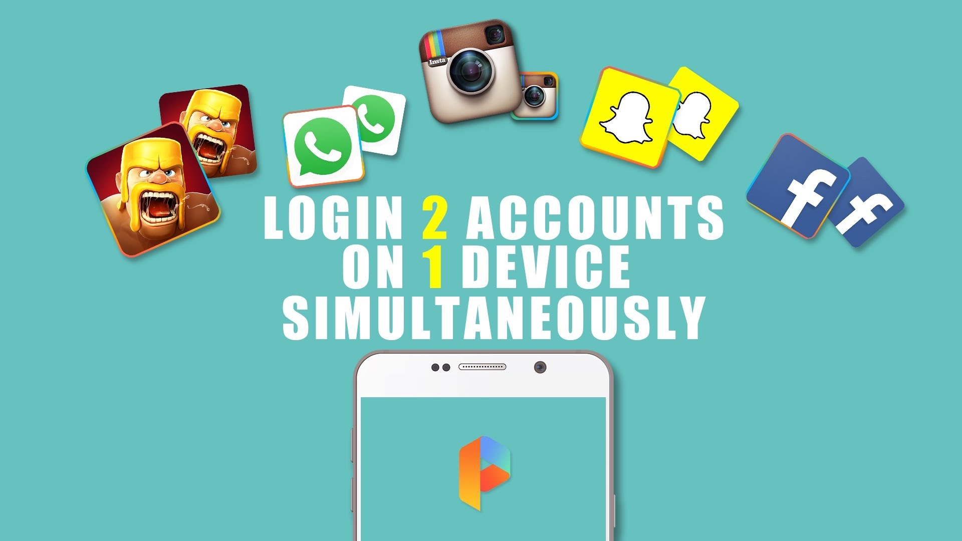 How to install multiple app in same android phone(without root)