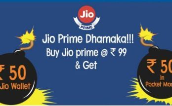(Pocket Money)Trick To Get Free Jio Prime Membership