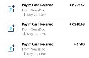 News Dog app proof