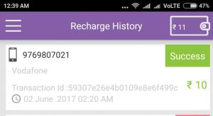 Get 10 rs recharge Unlimited