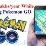 Earn Lakhs Every Year By Playing Pokemon Go Game In India