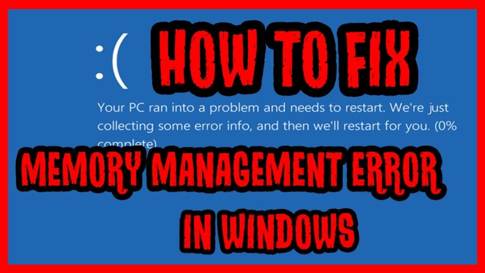 Windows 10 Stop Code Error