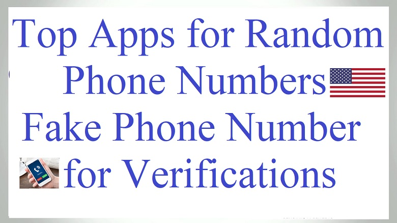 Random Phone Numbers | US Number for Verifications - Tricks By STG