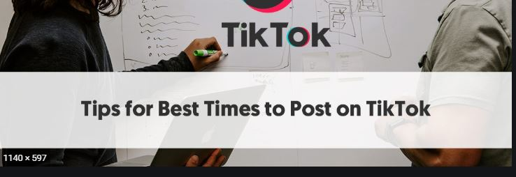 best time to upload on tiktok