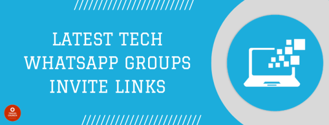 Tech WhatsApp Groups Link