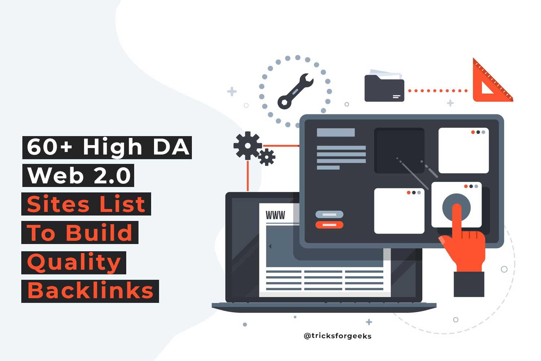 High da web 2.0 sites lista