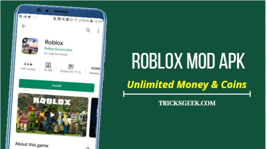 Roblox Mod Apk Download V2 430 404093 Unlimited Money