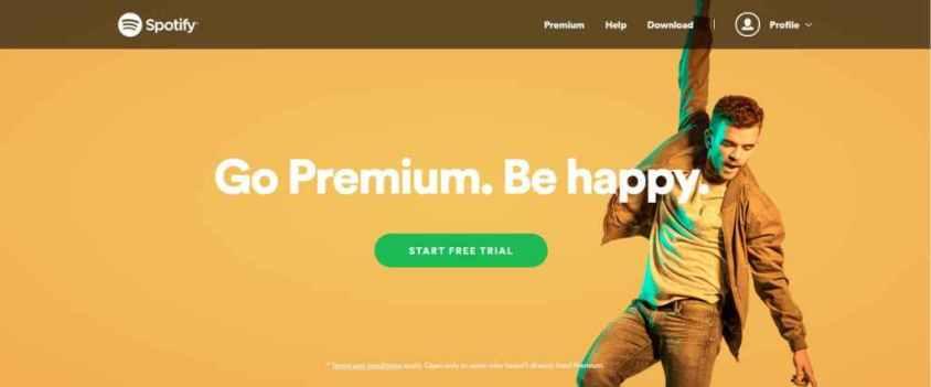 Free-spotify-premium-trial