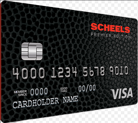 scheels credit card