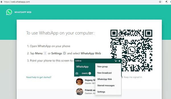 Use Whatsapp Web Login On Pc Complete Guide Trick Slash