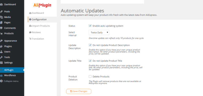 Automatic Updates Aliplugin Review