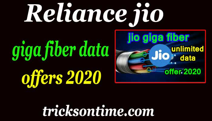 reliance jio giga fiber plans