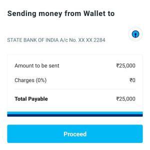 Paytm Money Transfer