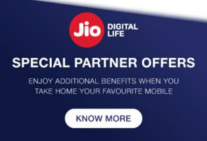 Jio Recharge Cashback Offer