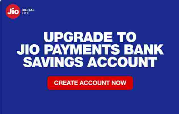 Best Jio Payments Bank 5 Minutes Opening Savings Account