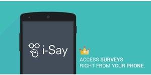 i-Say Survey Offer