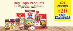 PayTM Tops Offer