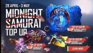 Midnight Samurai Diamond Top Up