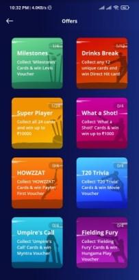 Paytm Cricket League Offer
