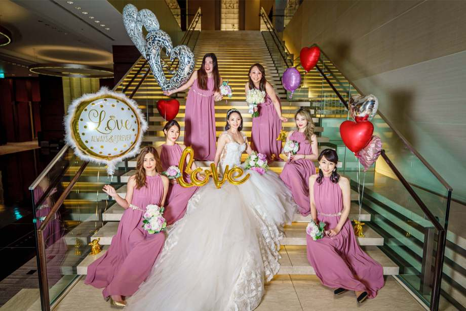 コンラッド東京結婚式 ウェディングフォト